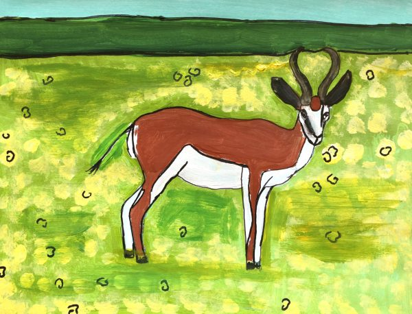 AF Graceful on the Grasslands 9×12 Mixed $40 5-19
