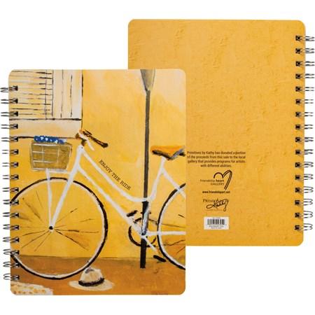 Spiral Notebook – Enjoy The Ride