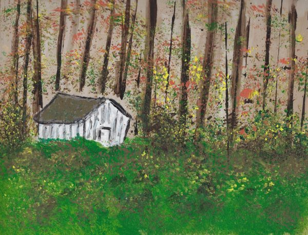 BW The Little Shed 9×12 Acrylic $45 12.2015