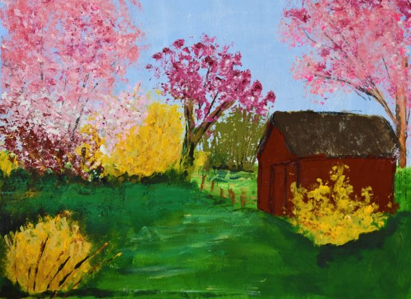 CG First Flowers of Spring 9×12 Mixed $45 4-16