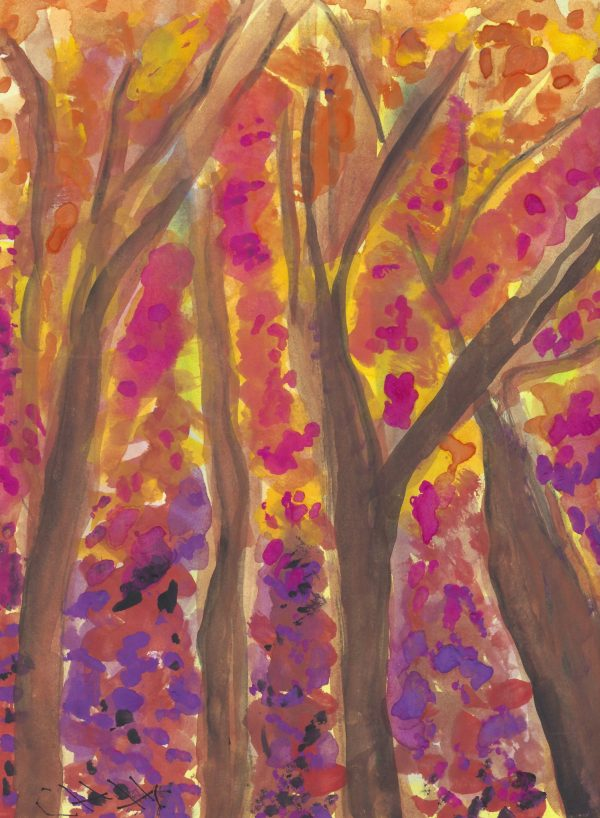 CH Springtime Glory 9×12 watercolor $45 1-16