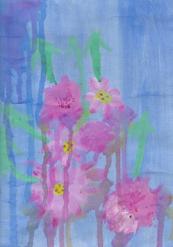 DC Waterlily 9×12 mixed $45 12-15