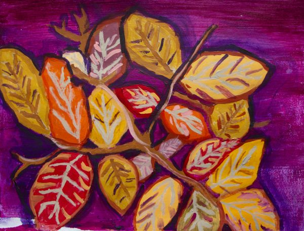 DS The Colors of Fall 11×14 acrylic $55 11-19