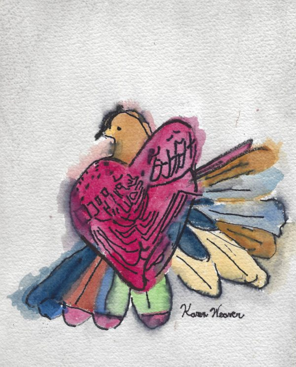 Love Bird Friendship Heart Gallery
