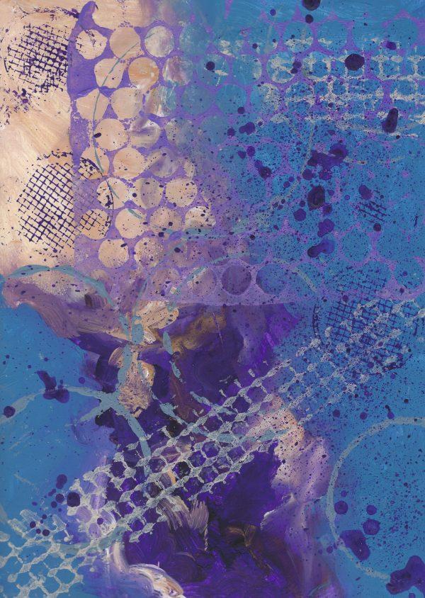 MB Rhythm and Blues 9×12 acrylic $50 8-17