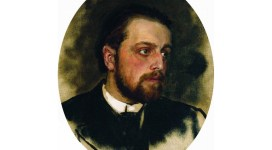Portrait of Chertkov by Repin (Wikipedia public domain)