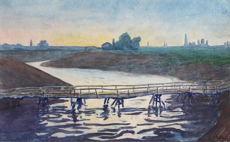 View of bridge in Buzuluk