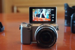 Sony NEX 5T with time laps apps