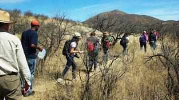 Sierra Club hiking Jaguar Trail