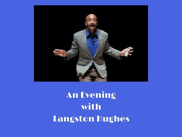 Langston Hughes, portrayed by David Mills