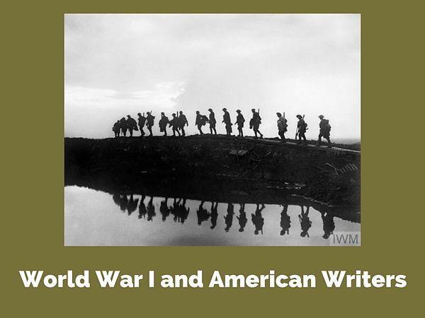 World War I and American Writers