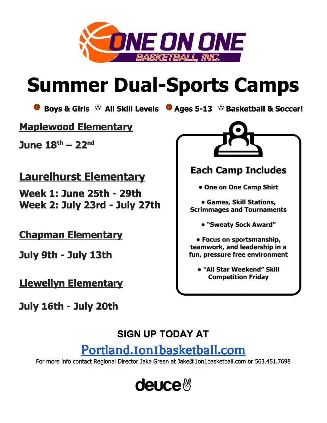Flyer Summer Camp 18 PDX updt