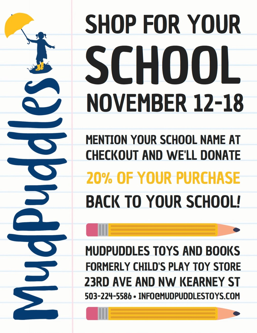 shop for your school page 1