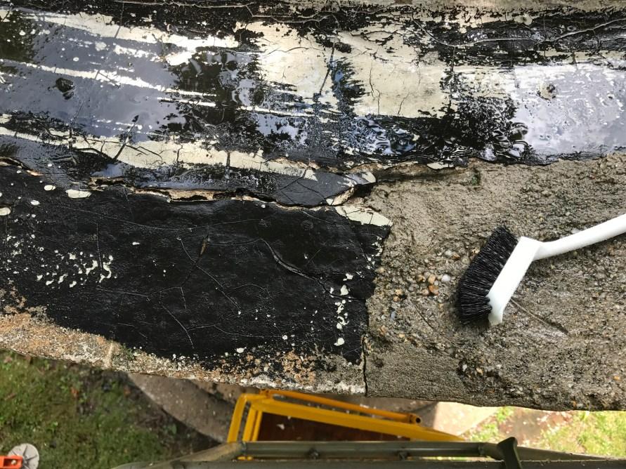 Cupola - trough damage