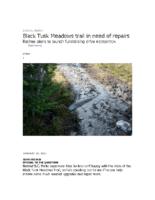 News_Black Tusk Meadows trail in need of repairs
