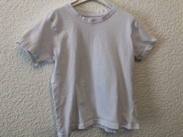 White PE T-Shirt (size 4-5 years)
