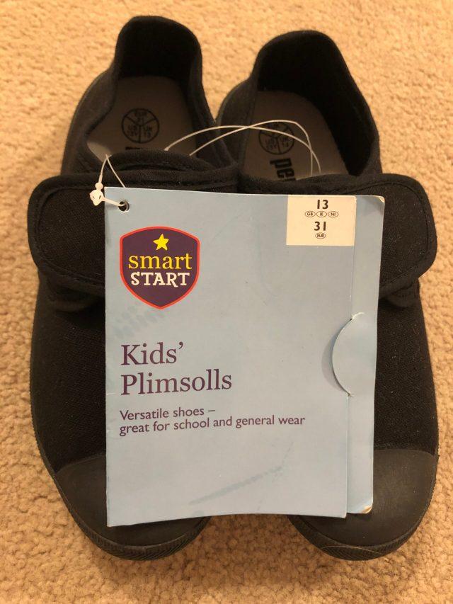 Black PE Pumps (infant size 13)