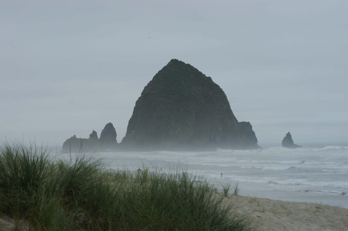 HaystackRockInTheMist