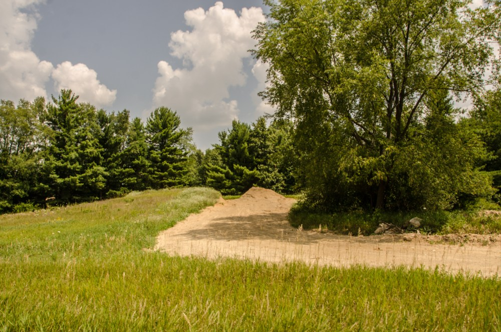 New Cedar Creek Trail at Highland State Recreation Area is Nearing Completion (6/6)