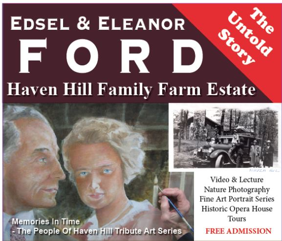 Haven Hill - The Edsel & Eleanor Ford Family Farm Estate The Untold Story (1/2)