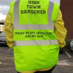 If you see them in their florescent jackets, ask how you can get involved