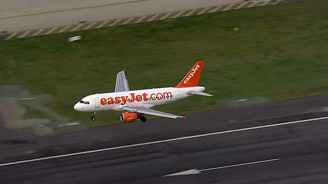 Image depicts a jet taking off to show the concept of a team going away together on tour