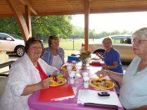 Members at the picnic