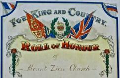Mt Zion Roll Of Honour - Lower Copy (1)
