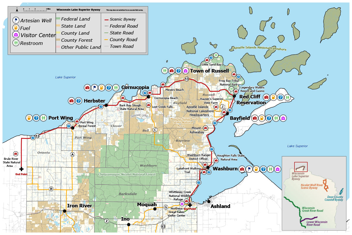 Scenic Byway Map