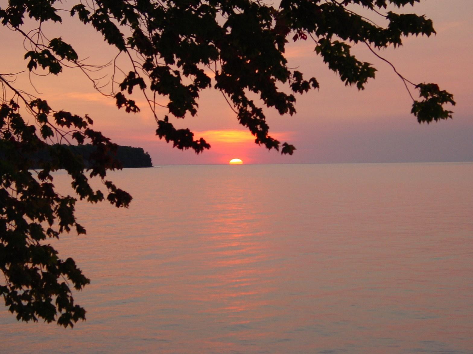 Sunrise on Outer Island