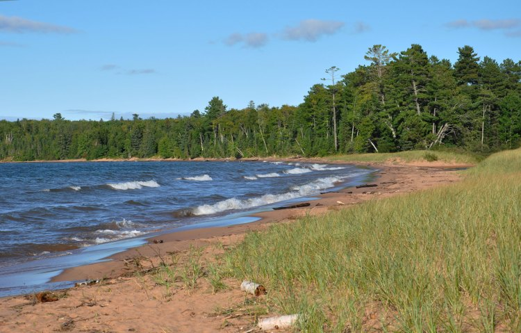 Little Sand Bay beach