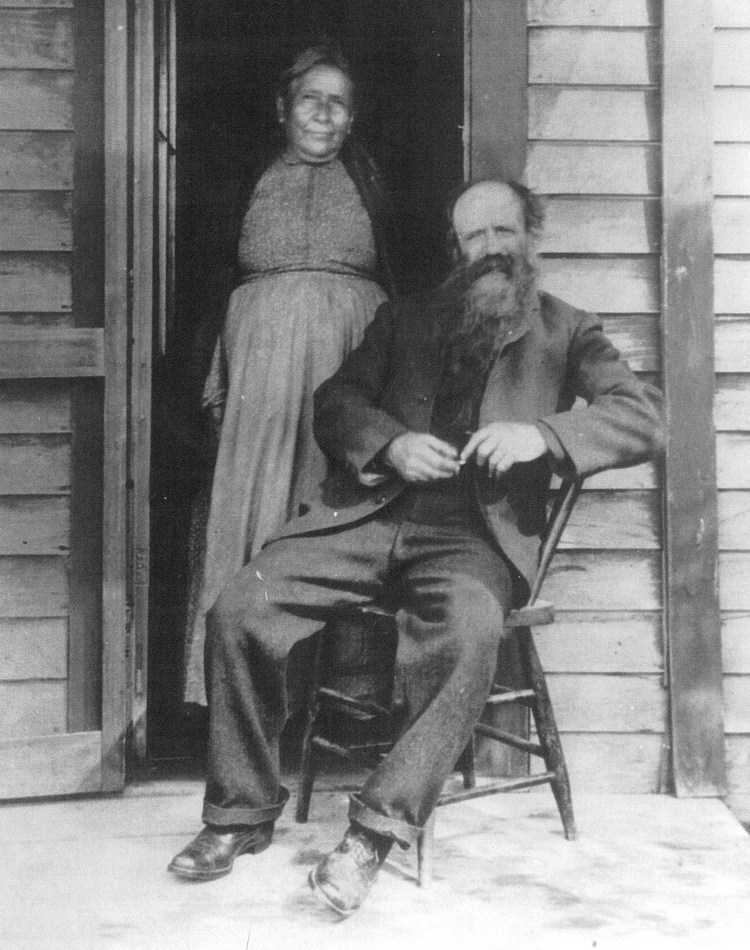 Francis & Catherine Jacker - Francis and his wife at home
