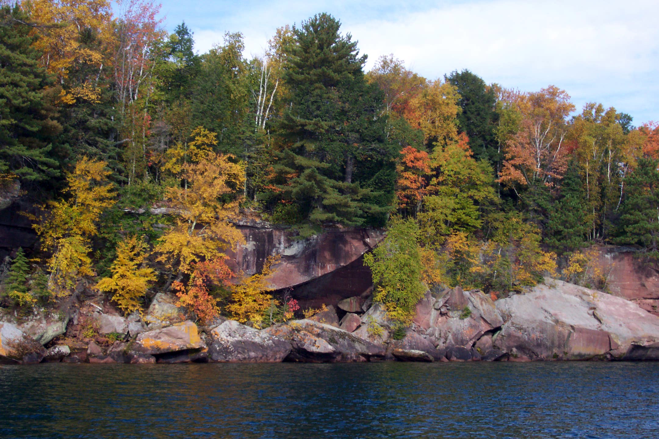Fall colors in the islands