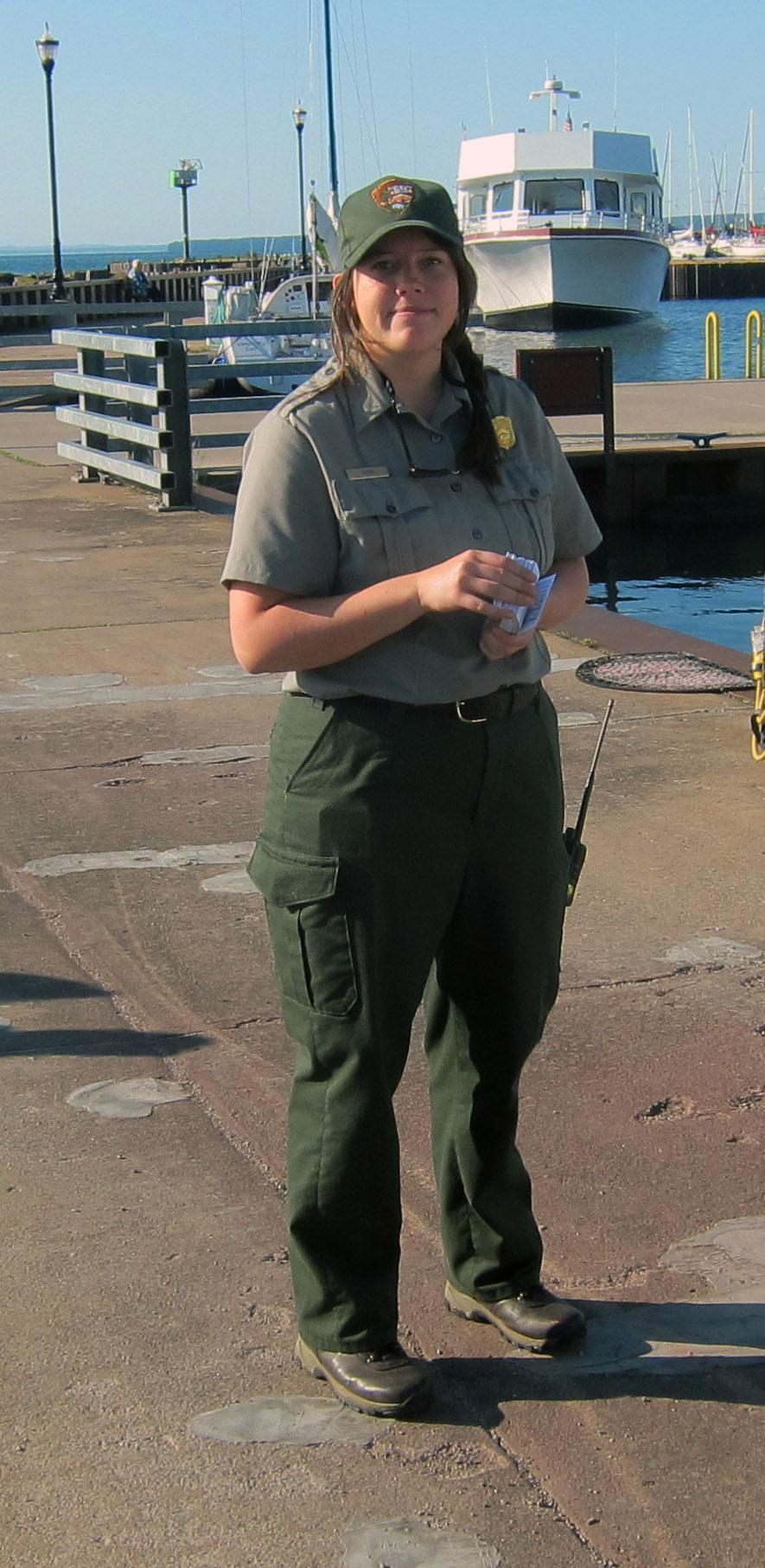 Ranger Sophie Howk at age 23