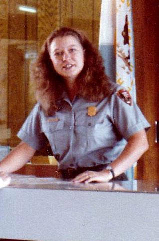 Ranger Susan Larsen at age 23