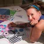 The Latest Petite Party: Decorating Banners in Honor of the Day of the Dead!