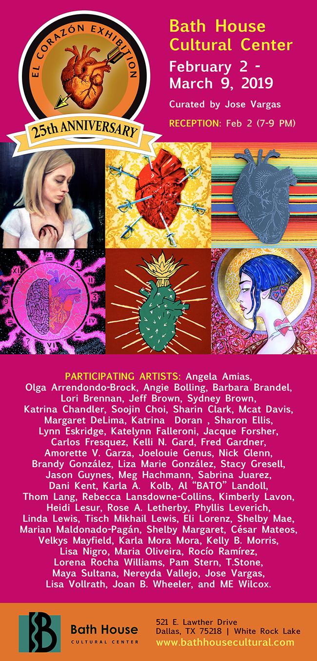 25th Annual El Corazón Exhibition