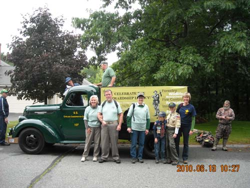 Upton State Forest's 275th Parade
