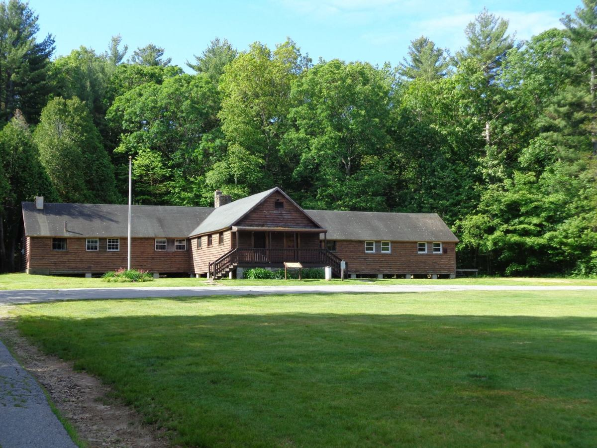 Civilian Conservation Corps Headquarters at Upton State Forest