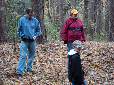 Discovery Hike Upton State Forest Marylou Hannon Ansel & Wyatt Ansel