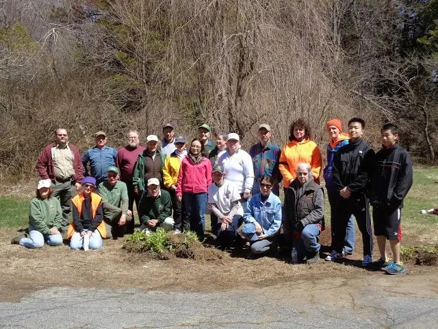 Park Serve group photo Upton State Forest