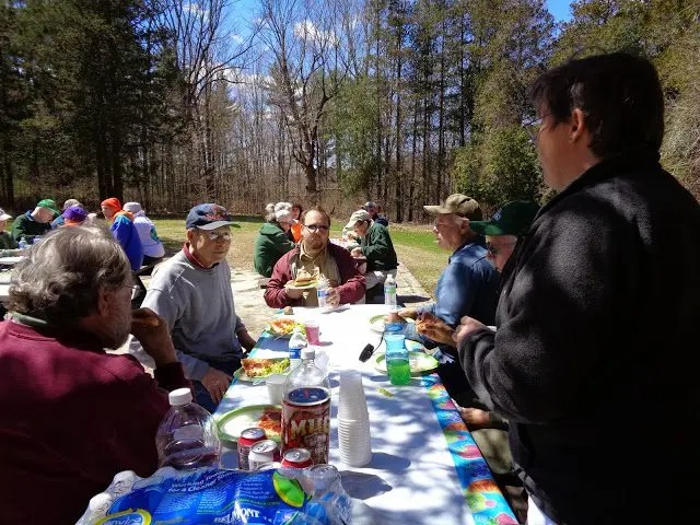 Park Serve picnic 2015 Upton State Forest