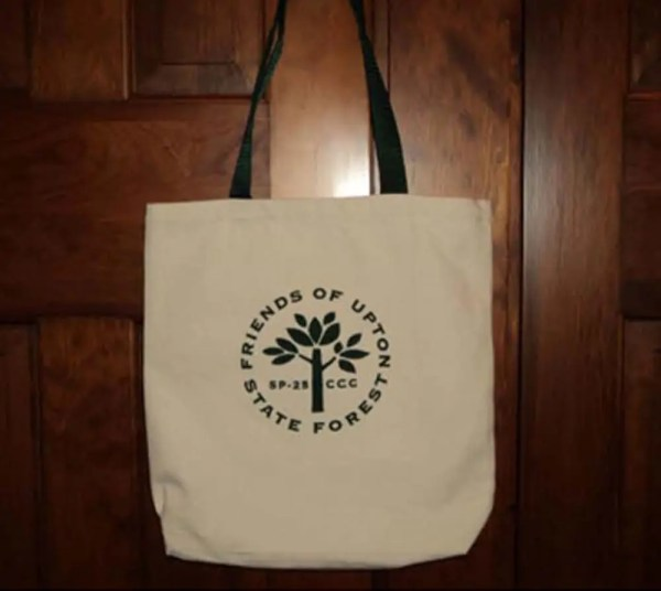 Friends of Upton State Forest Tote Bag
