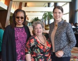 SARAH GISH PHOTO.Denise Bates, Beth Ann Scher, Leah Barton