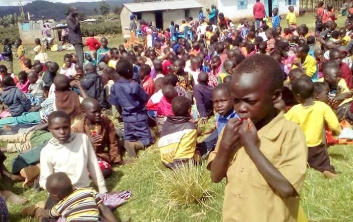Children on Mt. Elgon, Kenya
