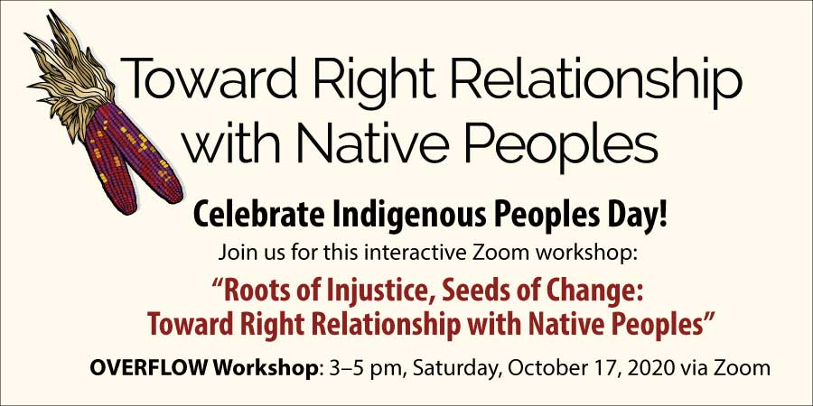 Overflow Workshop Indigenous Peoples Day