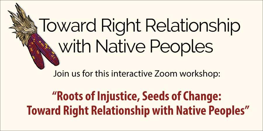 Online Workshop Toward Right Relationship