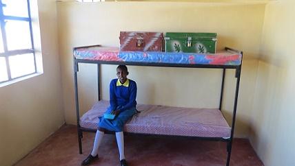 Girl in Rescue Center Dorm