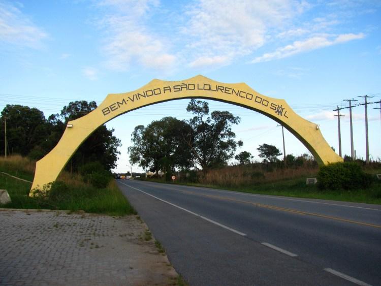 Pórtico de entrada de São Lourenço do Sul