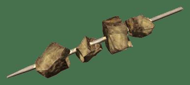 iguana no palito